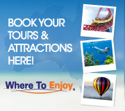 Attractions: Tours: Theme Parks: Airport Transfers